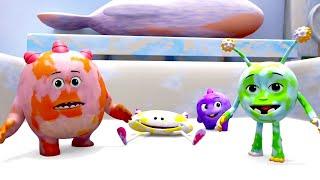 Booya | Freeze Over | веселые мультфильмы | дошкольное | анимация