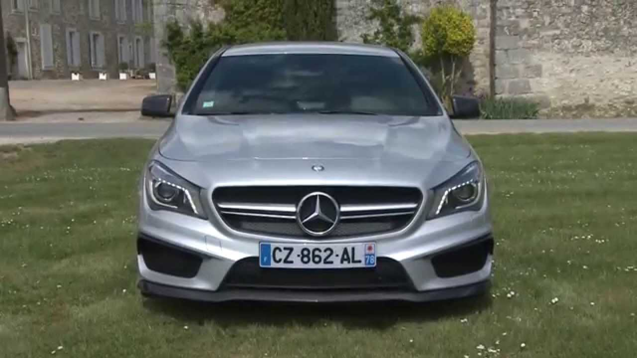essai mercedes classe cla 45 amg 360ch youtube. Black Bedroom Furniture Sets. Home Design Ideas