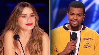 Sofia Vergara Cries After 'AGT' Contestant Explains Poem