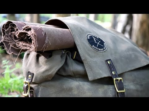 Bushcraft Backpack And Gear For Summer
