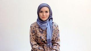 "Hijab Tutorial 61 ""Dazzling Blue"" by Zahratul Jannah Thumbnail"