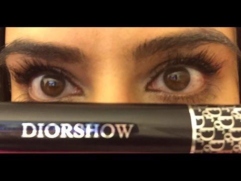 a60219ef003 Mascara Monday Dior Diorshow Mascara Review & Demonstration - YouTube