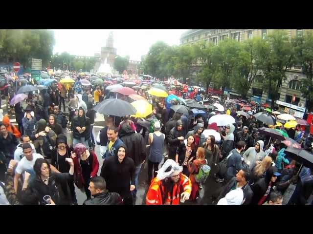 mayday2012, Milano