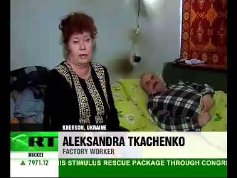 Crisis in Ukraine   dreary figures
