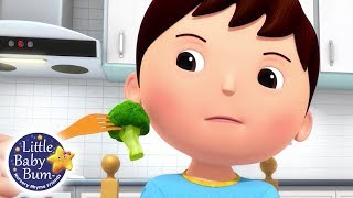 No No No Vegetables | Nursery Rhymes for Babies | Songs For Kids | Learn with Little Baby Bum