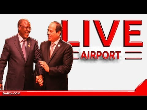 🔴LIVE BREAKING: Rais wa Misri awasili Tanzania
