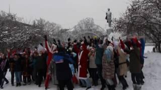 Съёмки новогоднего клипа группы