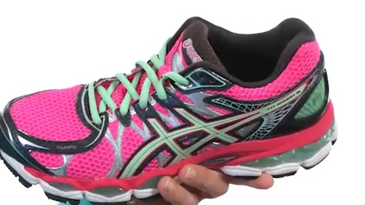 asics gel nimbus running shoes womens