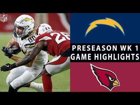 Chargers vs. Cardinals Highlights | NFL 2018 Preseason Week 1