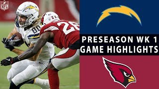 Chargers vs. Cardinals Highlights | NFL 2018 Preseason Week 1