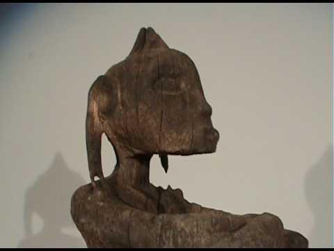 Korwar Wood Sculpture Circa 1800s