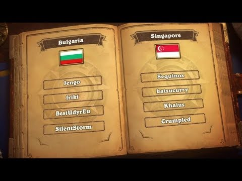 Bulgaria vs Singapore - 2018 Hearthstone Global - Game 4