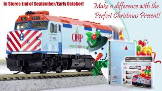 Kato Product Preview September 2017 - Operation North Pole 2016 Christmas Train