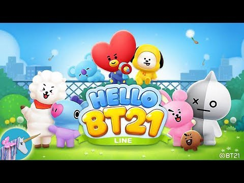 LINE HELLO BT21- Cute bubble-shooting puzzle game