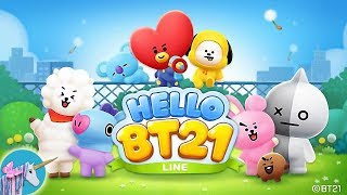 LINE HELLO BT21- Cute bubble-shooting puzzle game screenshot 5