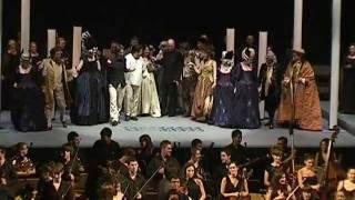 Nur stille!...Die Strahlen der Sonne vertreiben bei Nacht, ópera Die Zauberflöte, Mozart