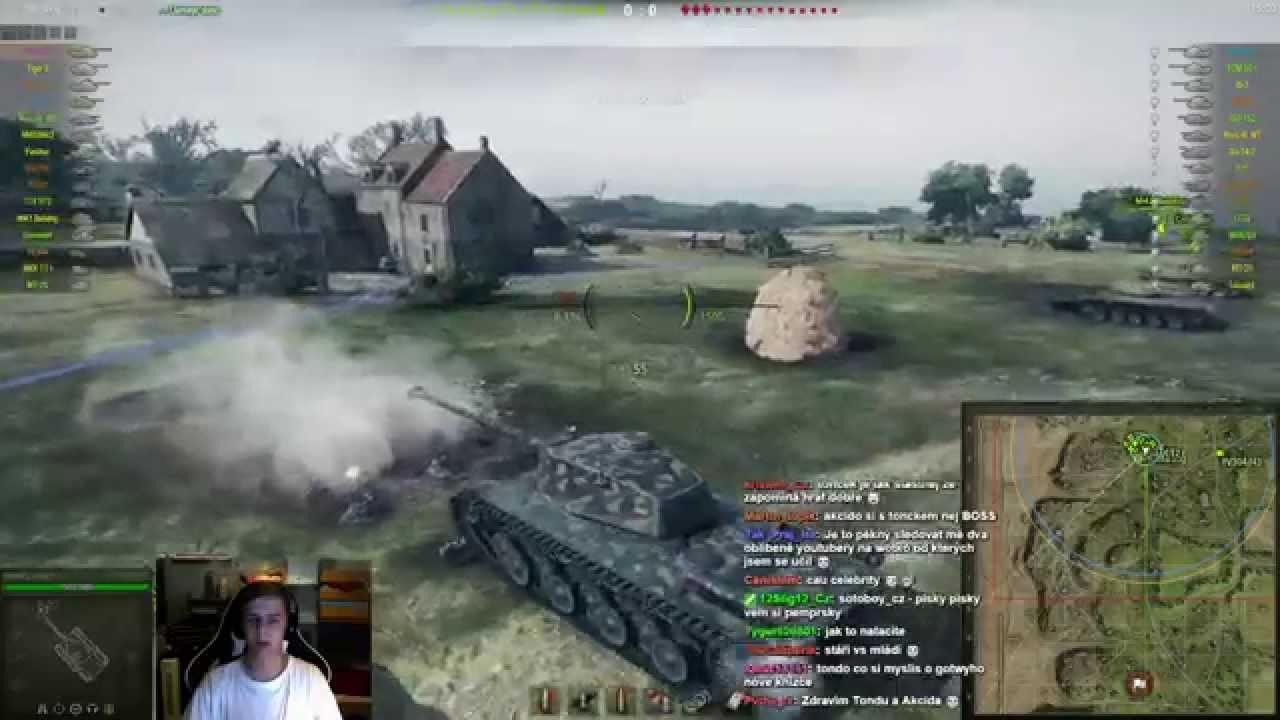Download World of Tanks CZ - Záznam speciálního streamu s akcidem z 4.10.2015