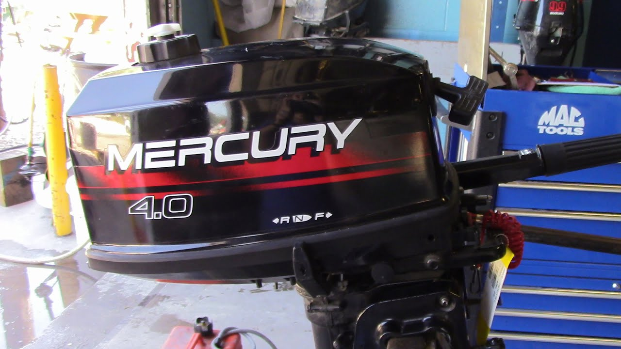 6m6895 used 1996 mercury marine 4mh 4hp tiller 2 stroke for 2 2 mercury outboard motor