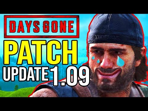 days gone 1.08 patch notes