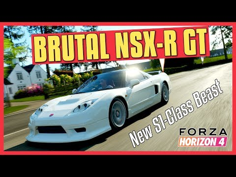 4df0db5ce2a HONDA NSX-R GT is a new S1 Class Rockstar (Forza Horizon 4) - YouTube