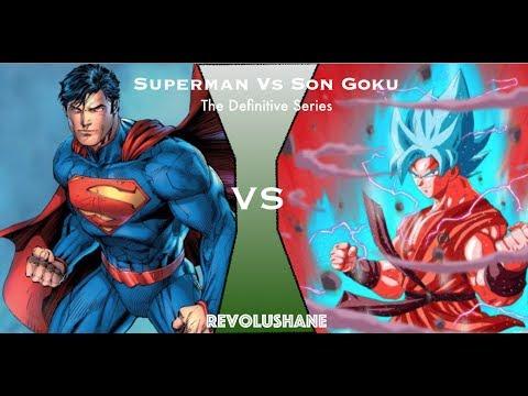 Goku Vs Superman (Composite)-The intro