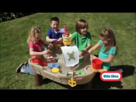 Игровой столик Little Tikes - Пиратский корабль (615924PO)