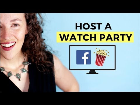 How To Use A FACEBOOK WATCH PARTY On Your BUSINESS PAGE
