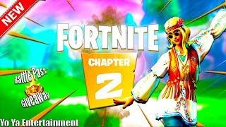 *Alert* Lets Welcome Fortnite Chapter 2!!! New Map/ New Battlepass/ Battlepass Giveaway!!!