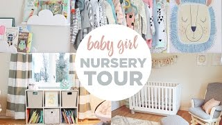 BABY GIRL NURSERY TOUR!!! | 32 WEEKS PREGNANT 👶🏻