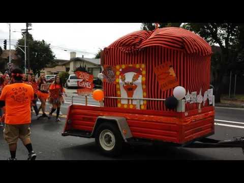Hayward High School - DTR 2016 Parade
