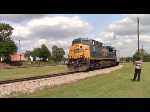 Railfanning The CSX Monroe and Hamlet Subs Cool Lash Ups and More!