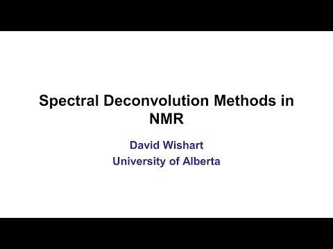Lecture 4: Spectral Deconvolution Methods