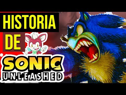 SONIC TRANSFORMED IN WOLF 😈 | HISTORY OF SONIC UNLEASHED