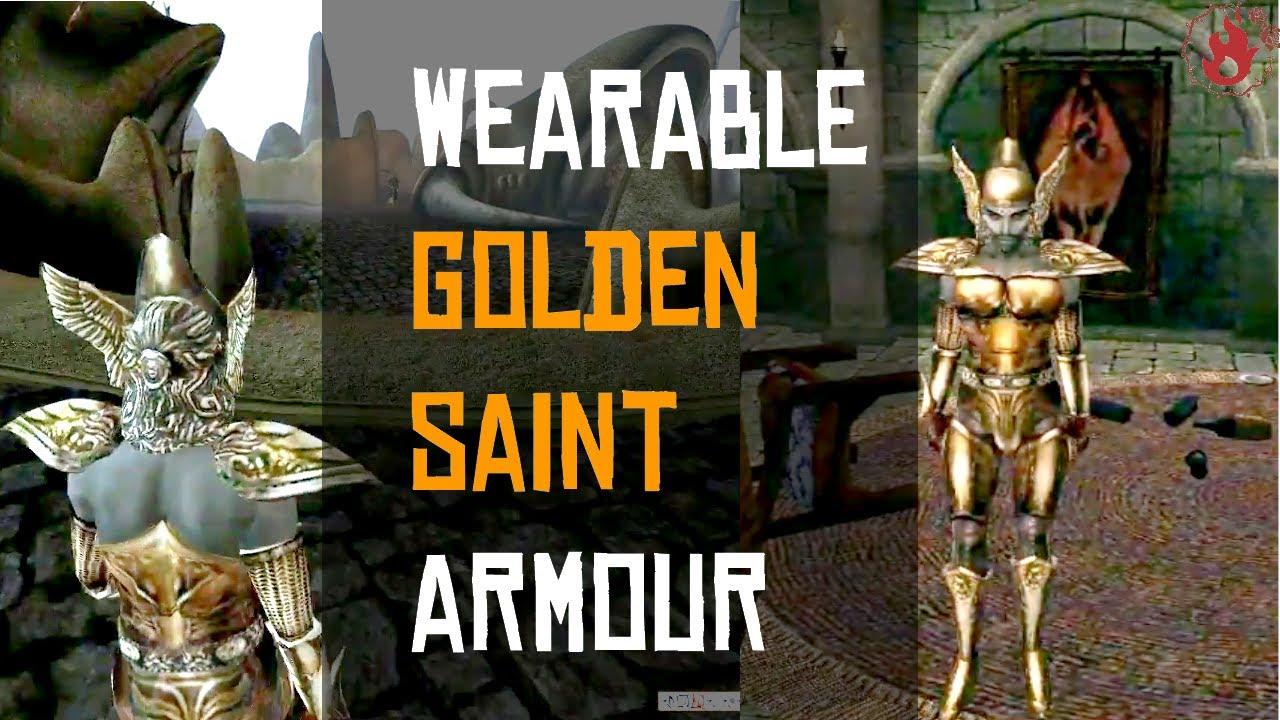 (Wearable) Golden Saint Armor mod (TES III Morrowind)