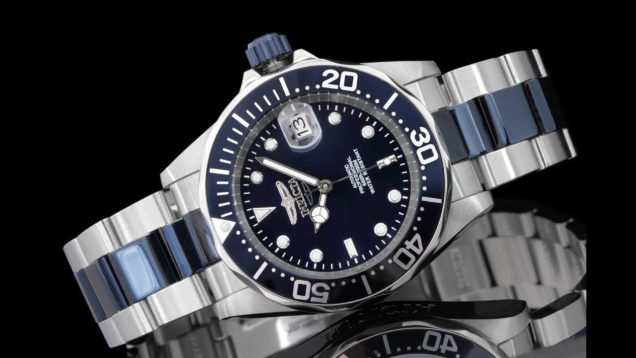 Invicta 19272 40mm pro diver automatic bracelet watch - 40mm dive watch ...
