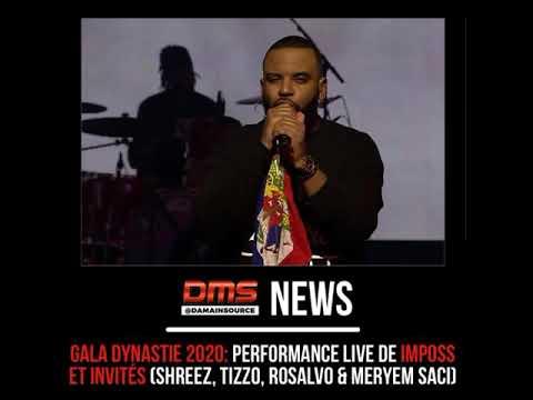 Youtube: Imposs en performance live lors du Gala Dynastie (avec Tizzo, Shreez, Rosalvo, Meryem Saci)