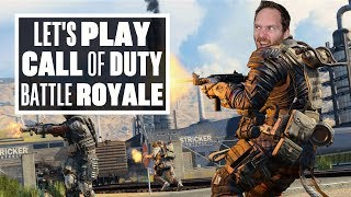 Let's Play Call Of Duty Black Ops 4 Blackout - CAN WE GET A FISH SUPPER?