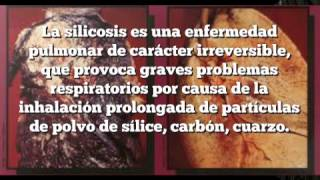 silicosis, enfermedad pulmonar de caracter irreversible