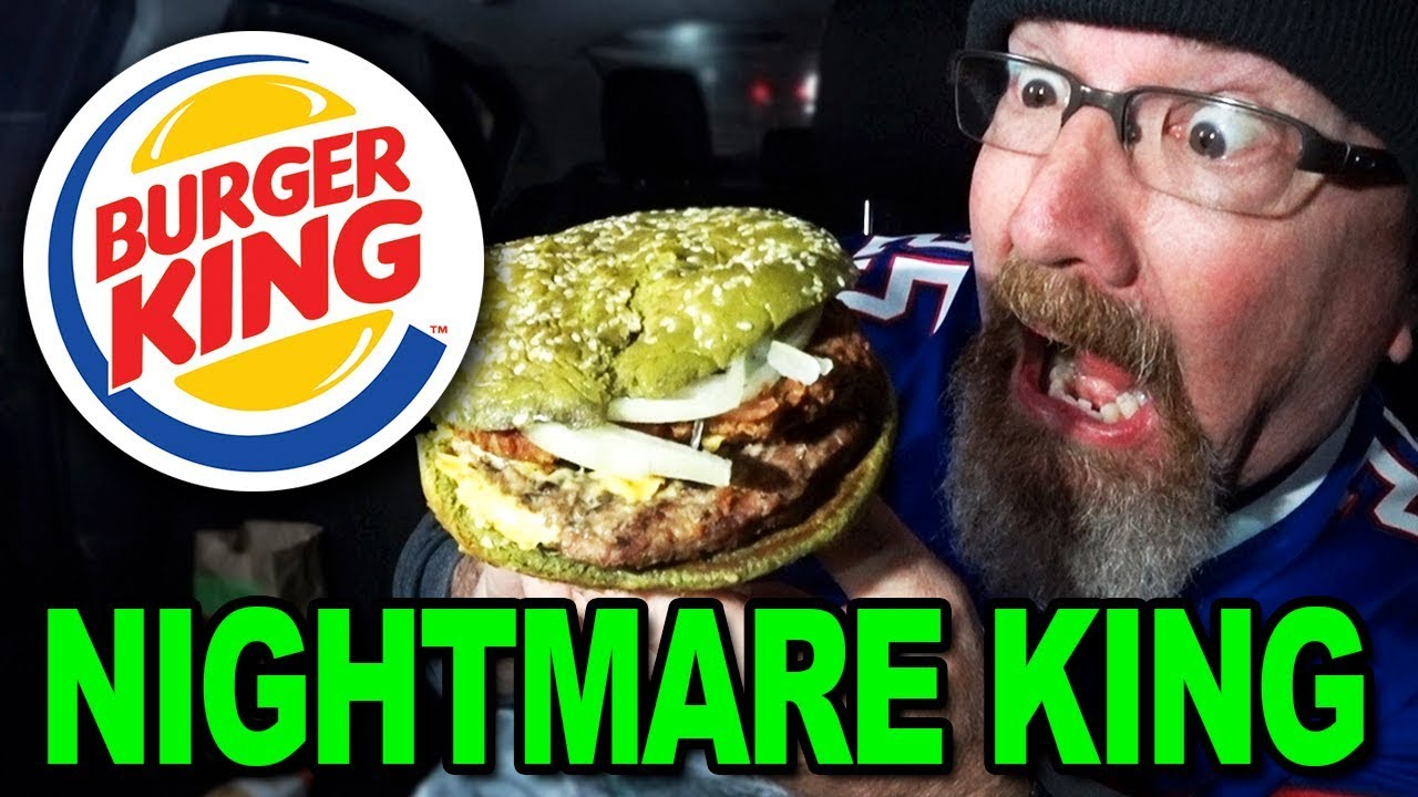 NIGHTMARE KING SANDWICH ???????? Burger King | Food Review.