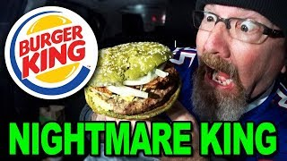 NIGHTMARE KING SANDWICH 👻🍔 Burger King | Food Review.