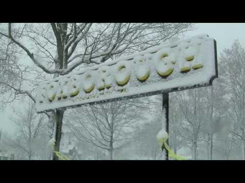 Foxborough, MA Snow Storm 2/13/14