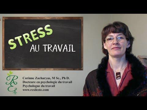 Êtes-vous stressé(e) au travail ?
