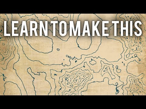 How To Create Topographic Maps In Blender