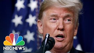 Donald Trump Speaks At White House Business Event With Governors | NBC News (Live Stream Recording)