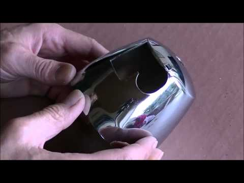 How To Polish Chrome Plastic, Polish Chrome Plated Plastic Trim