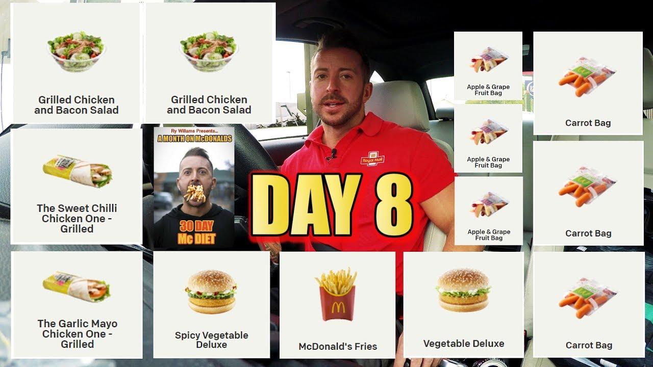 my 30 day mcdonald diet