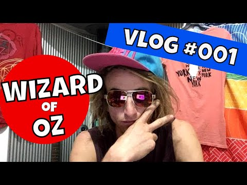 Wizard of OZ- vLog 001 A Mitchell James experiment