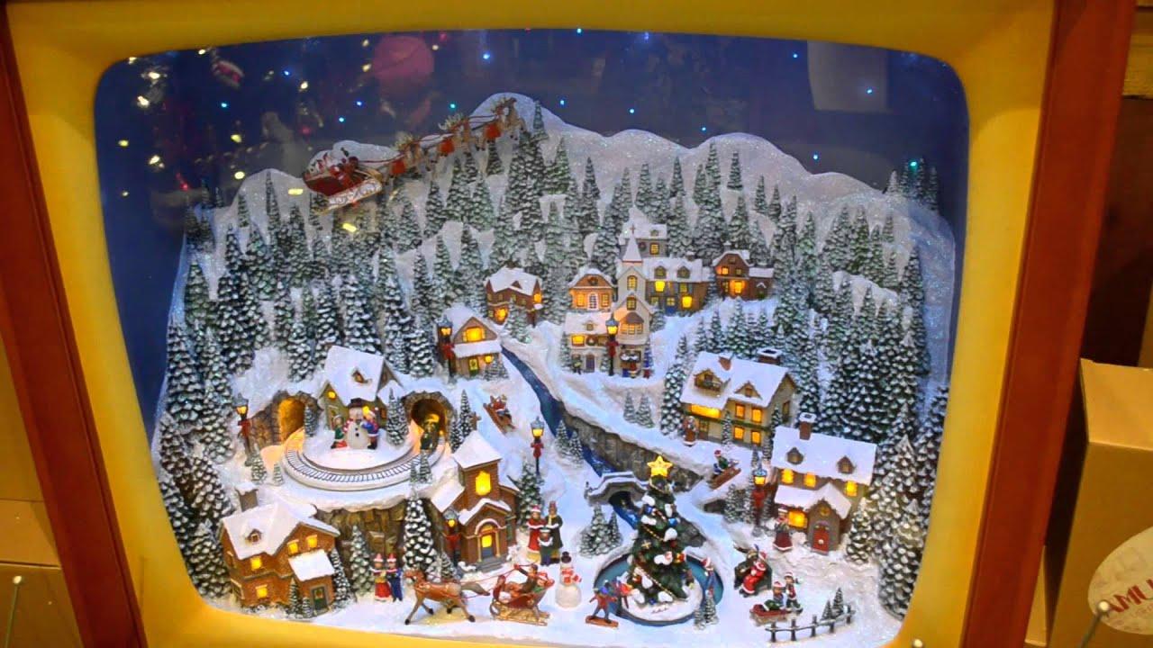Roman, Inc Musical TVs at the Santa Claus Christmas Store.mp4 ...