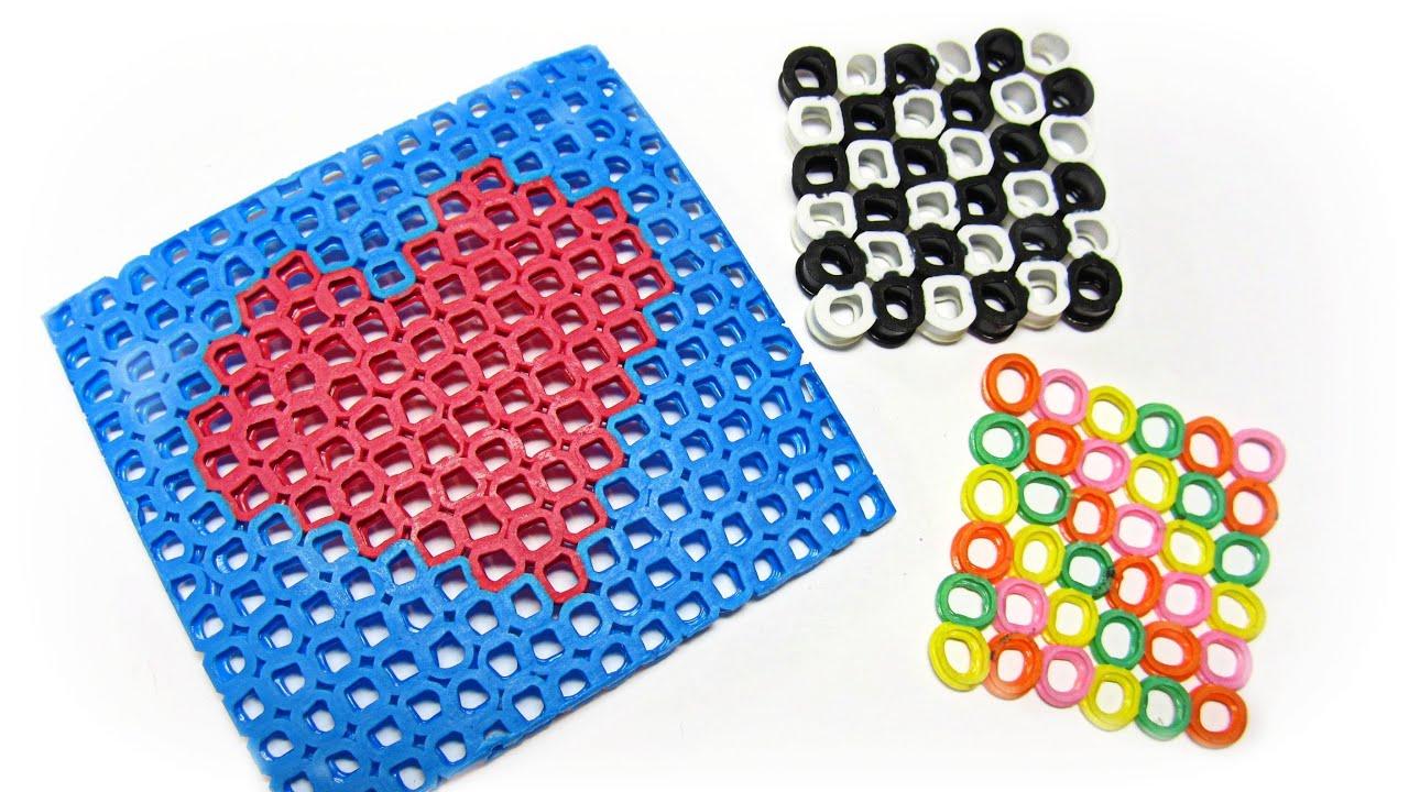 Mu ecos hechos con pajitas hama beads figures made with - Hama beads cuadros ...