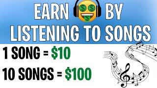 Make $10 From Listęning to 1 SONG *LEGIT* - Make Money Online 2021